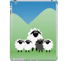 Cute Cartoon Sheep Family iPad Case/Skin
