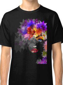 Colorful Flower Women Classic T-Shirt