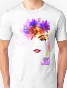 Colorful Flower Women T-Shirt