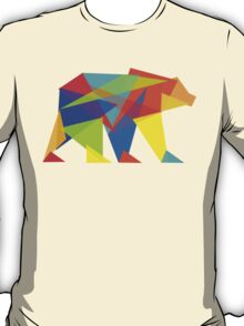 Fractal Geometric Bear T-Shirt