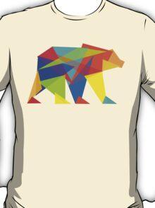 Fractal Geometric Bear T-Shirt