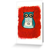 Owl HootHoot! Greeting Card