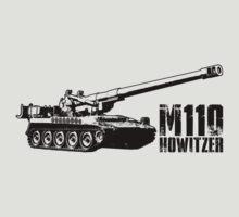 M110 howitzer by deathdagger