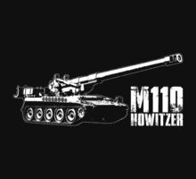 M110 howitzer by deathdagger