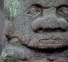 Old  stone idol  by mrivserg