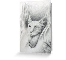 Fantasy Creature Greeting Card