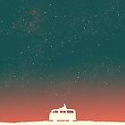 Quiet night starry sky by Budi Satria Kwan