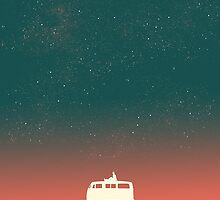 Quiet night starry sky by Budi Satria Kwan