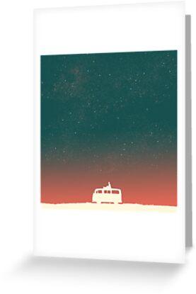 Quiet night starry sky by Budi Kwan