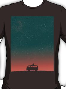Quiet night starry sky T-Shirt