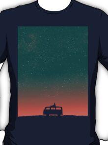 Quiet night starry sky T-Shirt