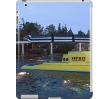 Submarines and Monorail over the Tomorrowland Lagoon iPad Case/Skin