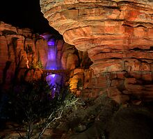 Willy's Butte in Cars Land at Disney California Adventure by Botts85