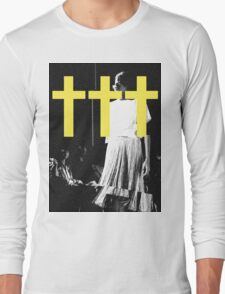 ††† (Crosses) - Yellow Variant Long Sleeve T-Shirt