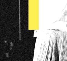 ††† (Crosses) - Yellow Variant Sticker