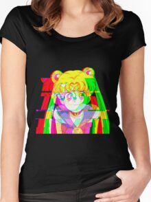 Sailor Glitch 2.0 Women's Fitted Scoop T-Shirt