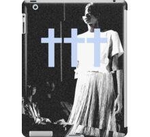 ††† (Crosses) - Blue Variant iPad Case/Skin