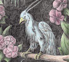 Blue Exotic Bird by jkartlife