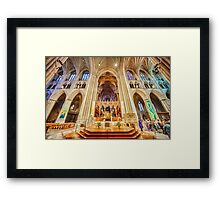 Magnificent Cathedral X Framed Print