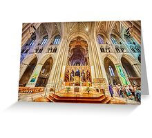Magnificent Cathedral X Greeting Card
