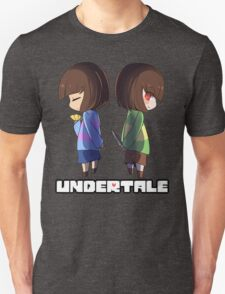 Undertale - chara and frisk T-Shirt
