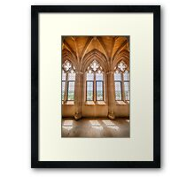 Cathedral Windows Framed Print
