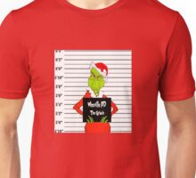 How the Grinch Got Busted Unisex T-Shirt