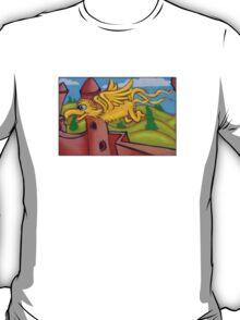 suesslike bird in flight T-Shirt