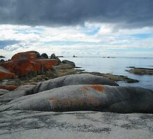 The unique Bay of Fires, Tasmania by imaginethis