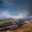 Ladybower Reservoir from Derwent Edge by Jon Bradbury