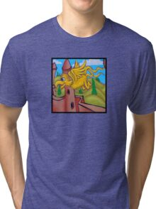 suesslike bird in flight (square) t Tri-blend T-Shirt