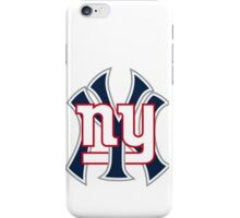 Ny Yankees Ny Giants Mashup iPhone Case/Skin