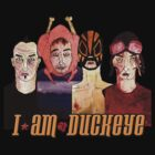 DUCKEYE FOUR NONGS Tshirt and Hoodie design for you to wear on whatever colour you want. by Sam Haycroft
