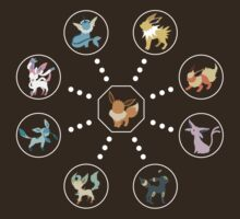 Eeveelutions by iSupercell
