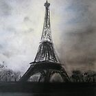 Eiffel Tower by Marion Clarke