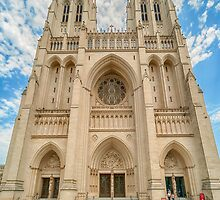 National Cathedral II by Ray Warren