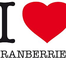 I ♥ CRANBERRIES by eyesblau