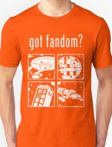 Got Fandom? Space Edition T-Shirt