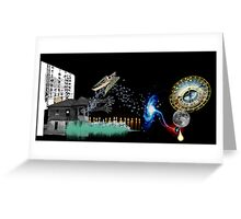 Metaphysical space within 2 Greeting Card