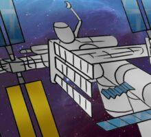 International Space Station Sticker