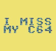 I (still) miss my C64 (boxy) Kids Clothes