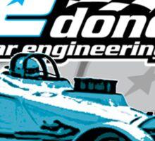 Drag Racing Shop Sticker