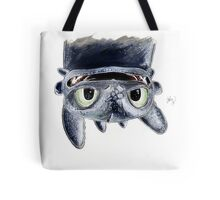 Toothless Upside Down Tote Bag