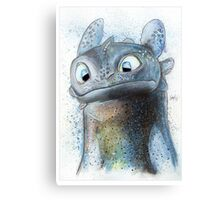 Garish Toothless Canvas Print