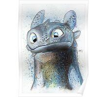 Garish Toothless Poster