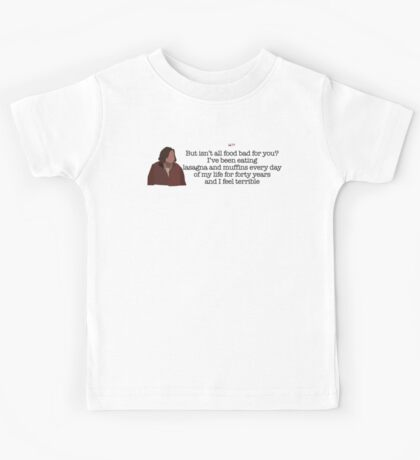 And I Feel Terrible Lady Parks and Recreation Kids Tee