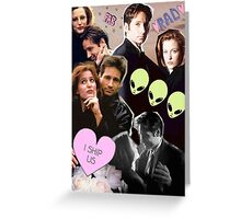 The X-Files Cuties Greeting Card