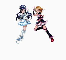 Pretty Cure - Black and White Unisex T-Shirt