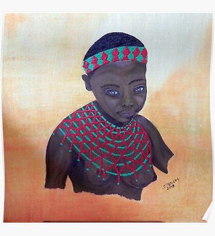 Zulu Girl. Poster
