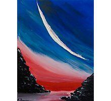 New Moon Photographic Print